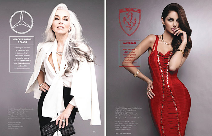Fashion Photographer Reimagines Cars As Supermodels