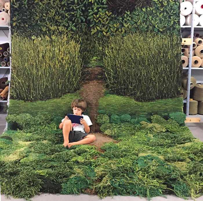 Unique Wool Rugs That Bring Moss And Meadows Into Your Home