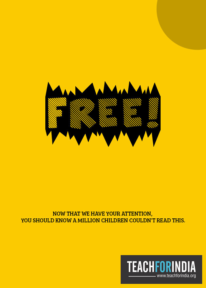 Yellow – Ad Campaign For Teach For India