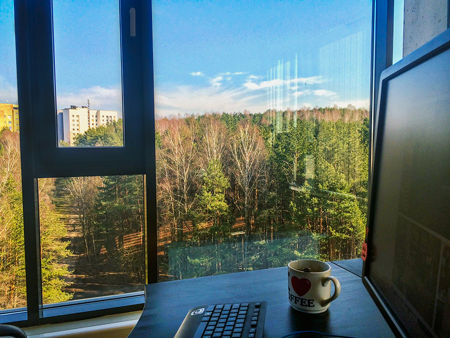 Beautiful View From My Office (Vilnius)