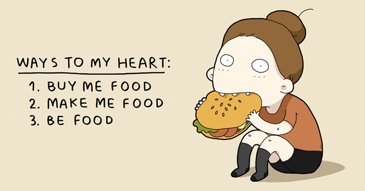 10 Things Every Foodie Can Relate To Bored Panda