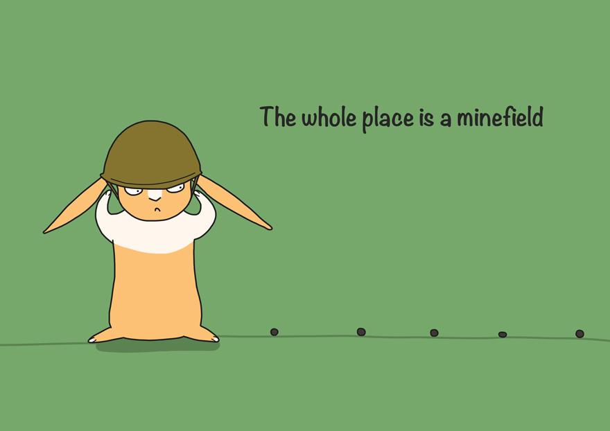 Beware The Mines