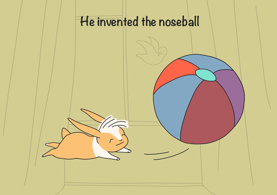 There Is A Pawball And A Noseball