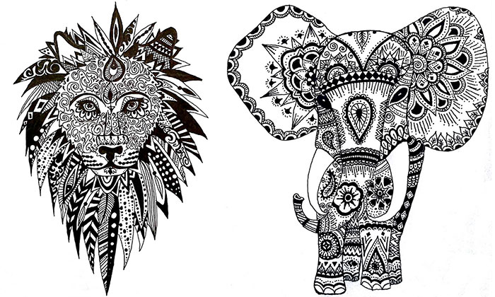 13 Ornamental Drawings That I Drew In 13 Days