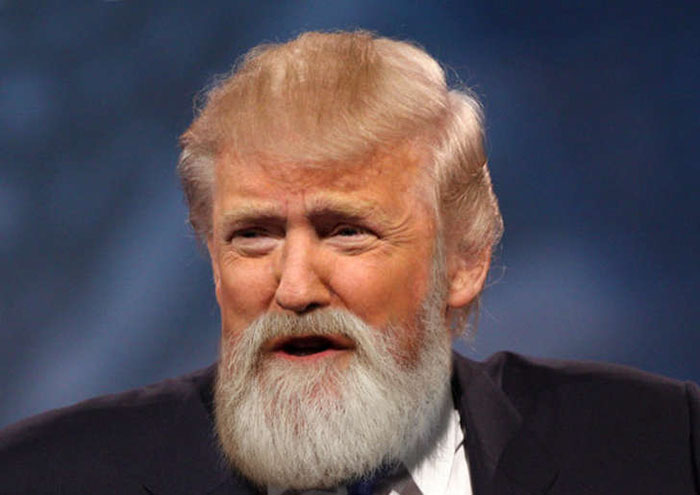 If The 2016 US Presidential Candidates Had Beards