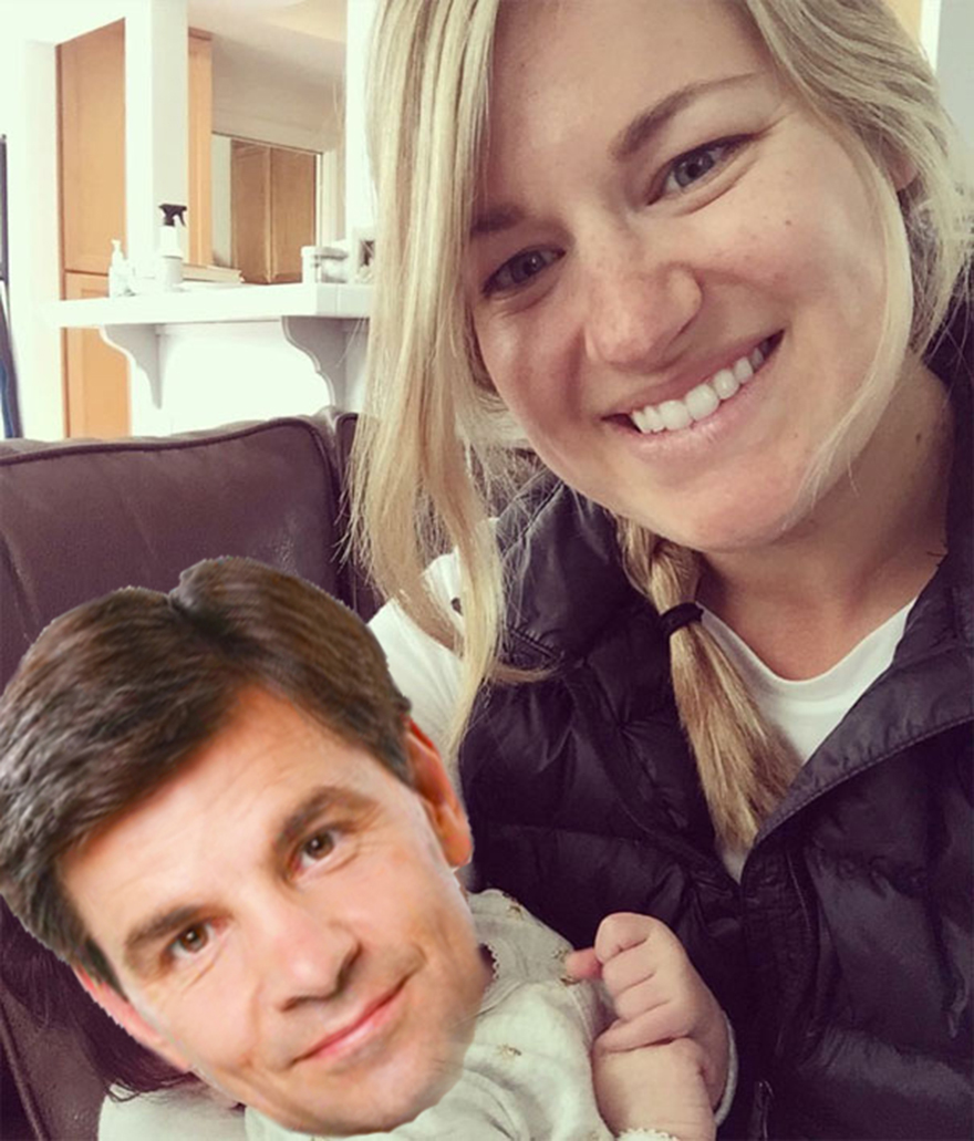 Baby Stephanopoulos!