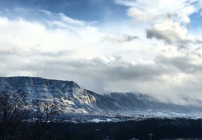Beautiful Mountains In Geneva