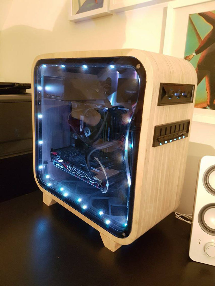 Superior I Have Also Installed LEDs But I Never Turn These On Because I Donu0027t Like  The Look Of It. Only Use Of Them Is To Show The Inside Of The Case