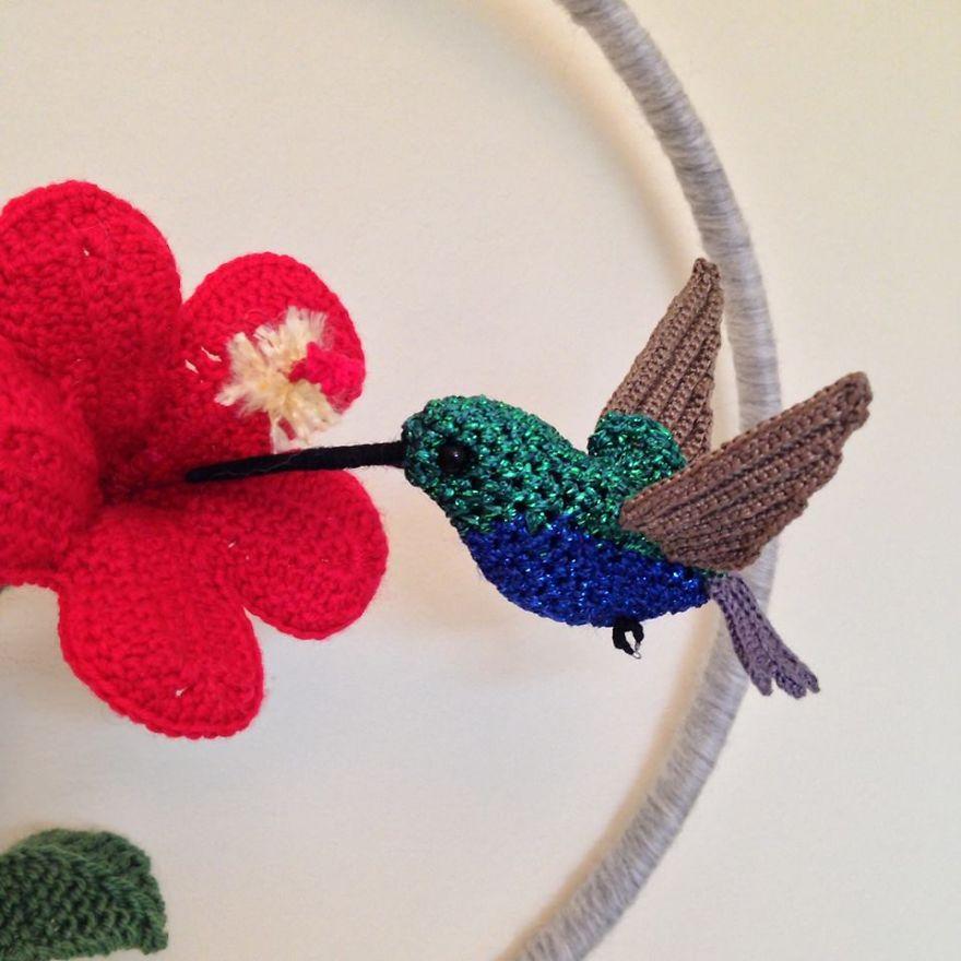 Crochet PATTERN Instant Download for Hummingbird Ornament   Etsy   880x880