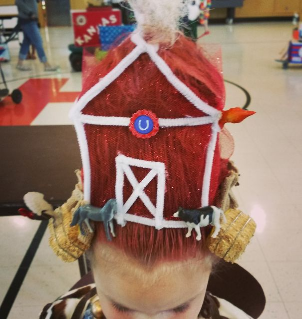 Crazy Hair Day Barn