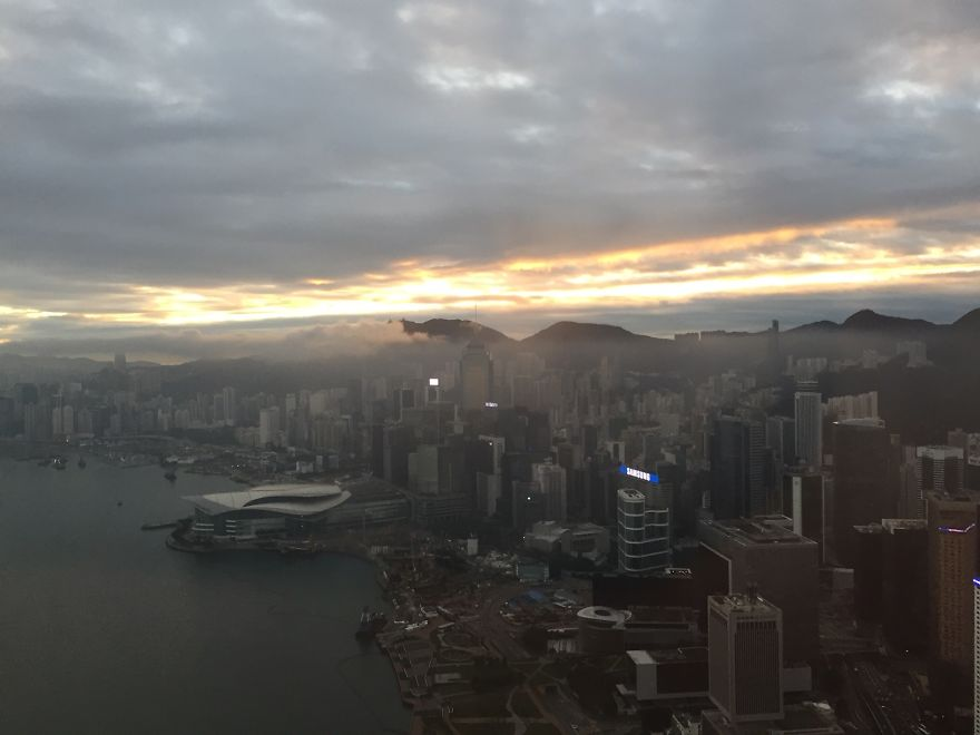 Hong Kong When I Get To Work In The Morning