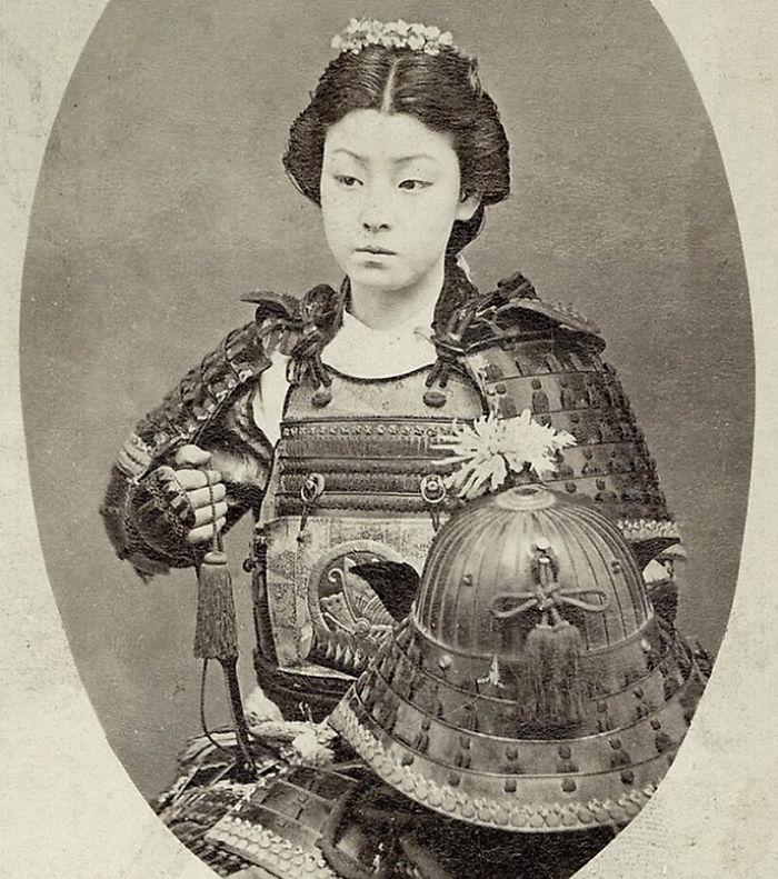 Japan Female-warrior