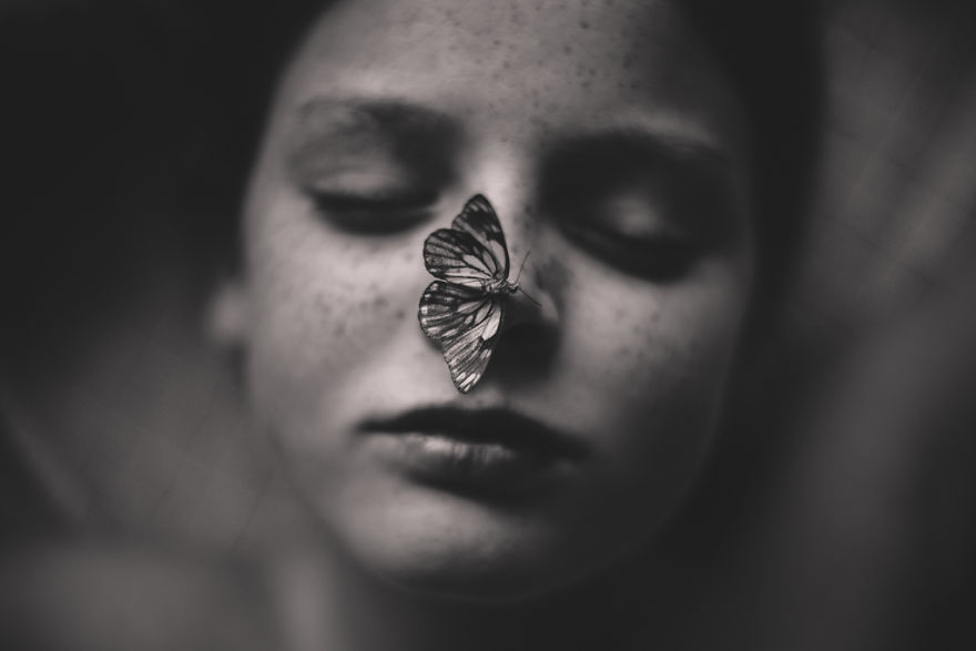 The Butterfly Pet By Kelly Tyack, Australia (3rd Place In The Fine Art Category, Second Half)