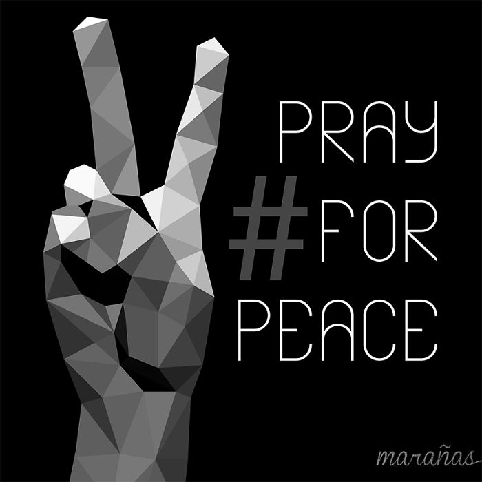 #prayforpeace