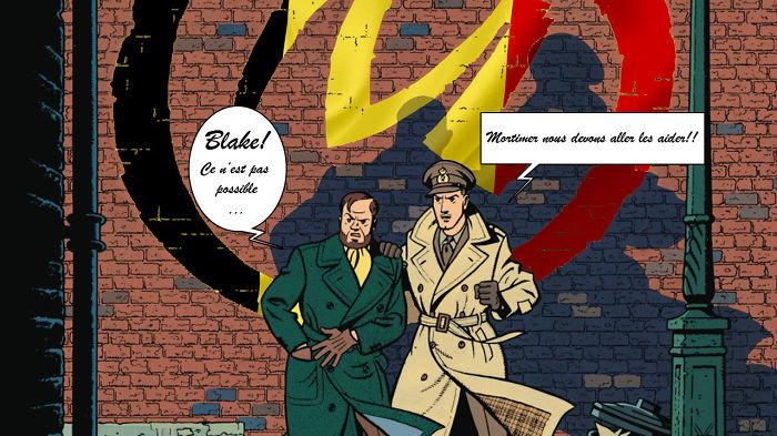 Blake & Mortimer Aident La Belgique!