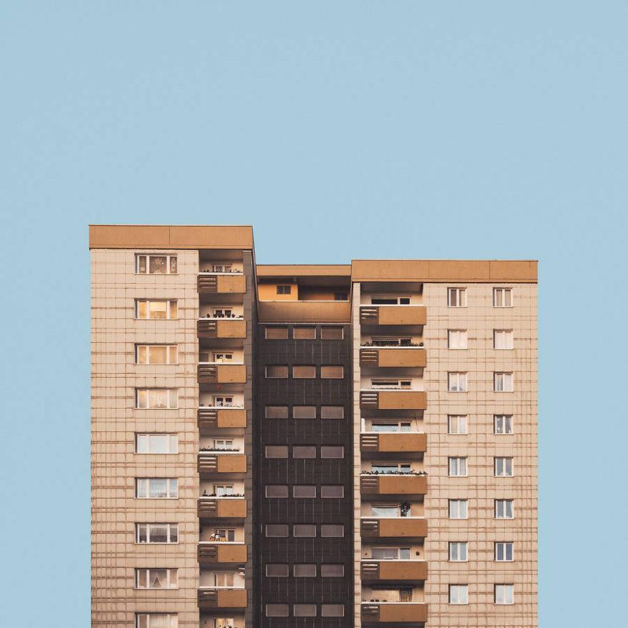 Berlin's Minimalist Post-War Architecture
