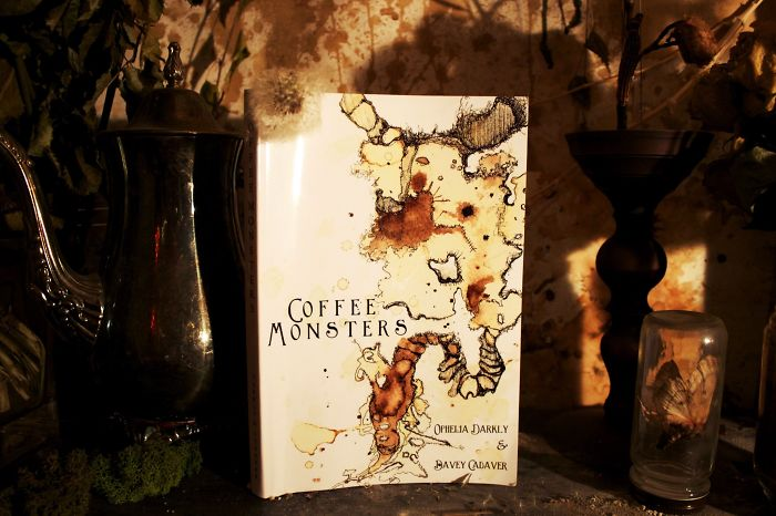 A Wish Come True: Couple Creates Book With Monsters Made Out Of Coffee And 13 Fairytales.