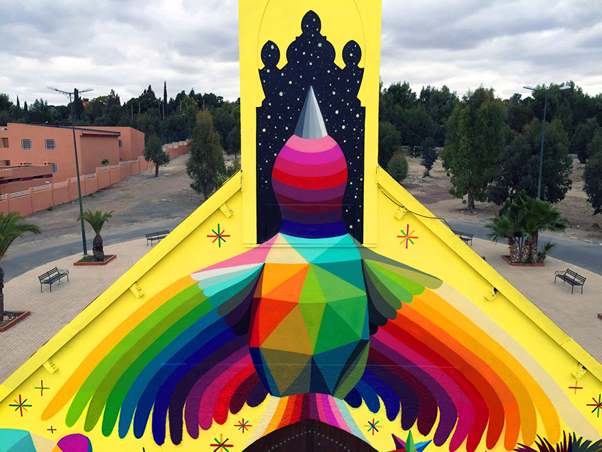 abandoned-church-painted-urban-street-art-okuda-san-miguel-morocco-5