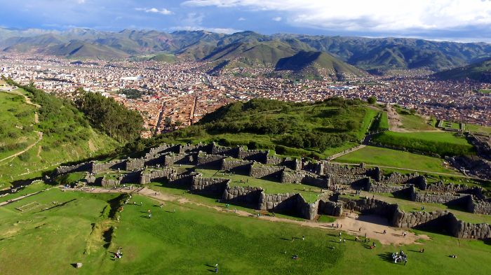 After Some Tough Negotiations I Was Able To  Fly My Drone Over The Incan Ruins At Sacsayhuaman
