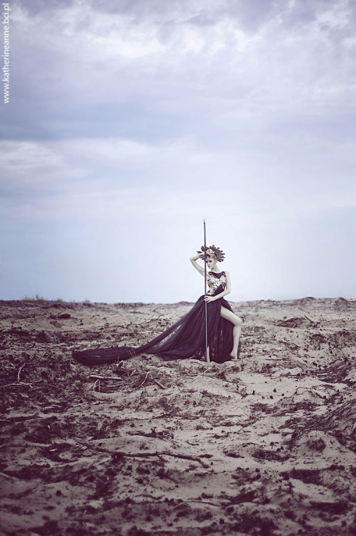 Amazing Photoshoot Inspired By Greek Mythology Made By Katarzyna Niwińska