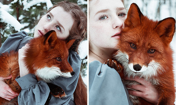 The Girl And The Fox, Two Redheads In One Story