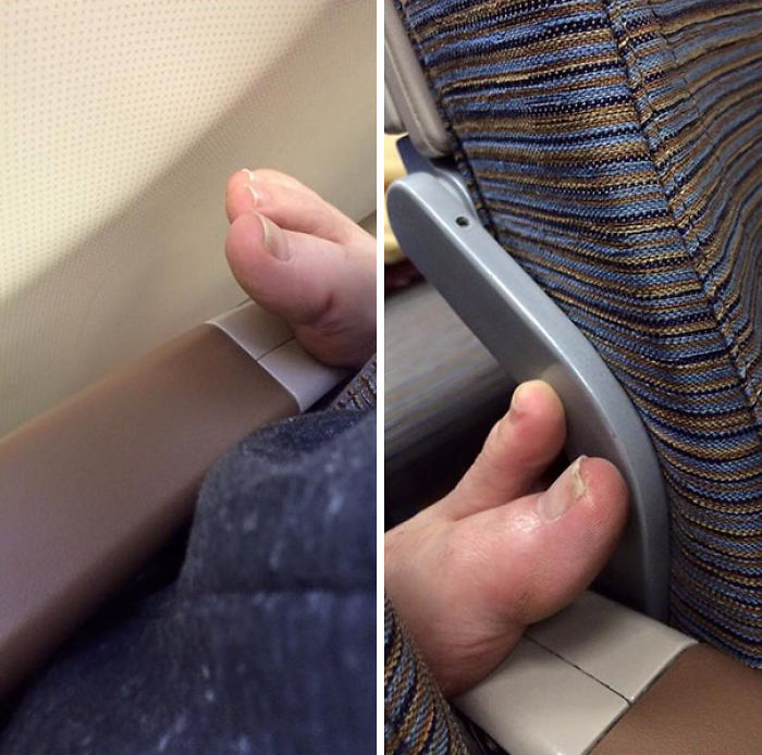 Send Help, Row 62 Has Some Strange Creatures Creeping Up Our Arm Rests