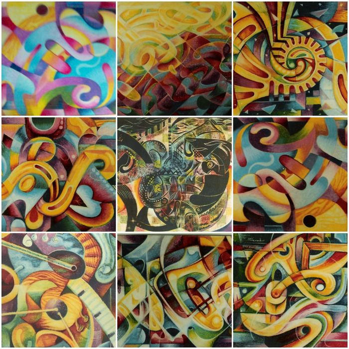 Astonishing Abstract Series By A Filipino Artist