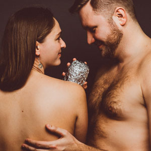 This Couple Did A Baby Photoshoot With A Burrito And It's Really Emotional