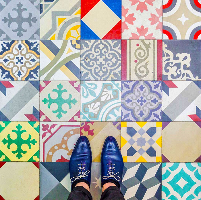 Barcelona Floors: Photographer Inspires Us To Look Down And Discover City's Culture