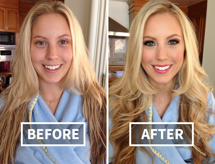 22+ Before-And-After Pics Reveal The Power Of Makeup By Melissa Murphy