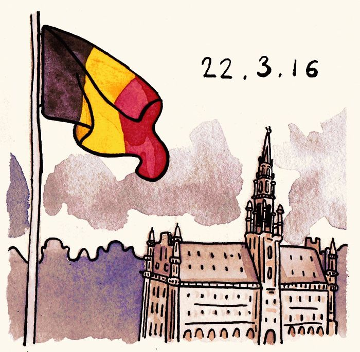 Thinking Of Those Affected In Brussels Right Now