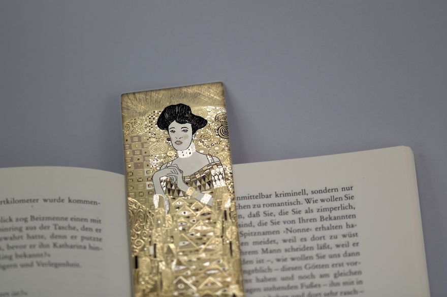 I Hand-Carve Silver Bookmarks That Tell Precious Stories