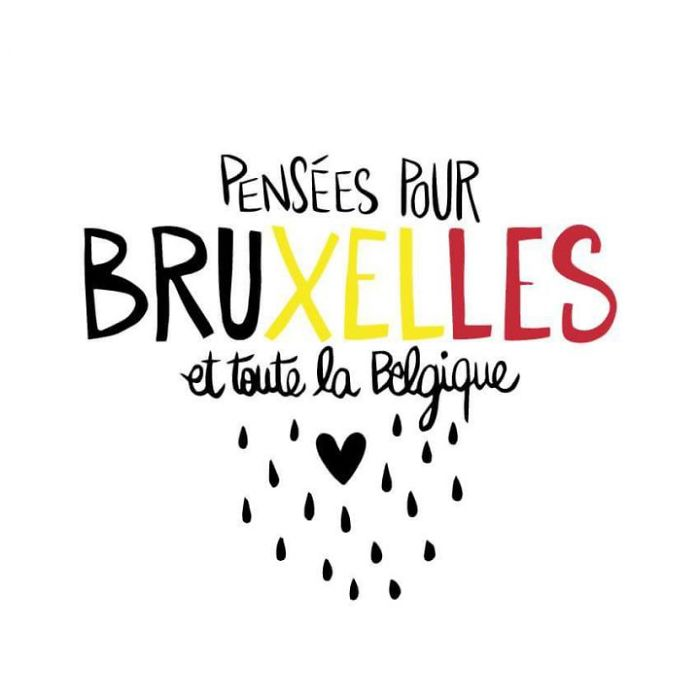 Thoughts With Brussels And Belgium