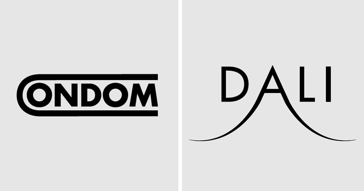 artist turns words into logos with hidden meanings 48 pics bored