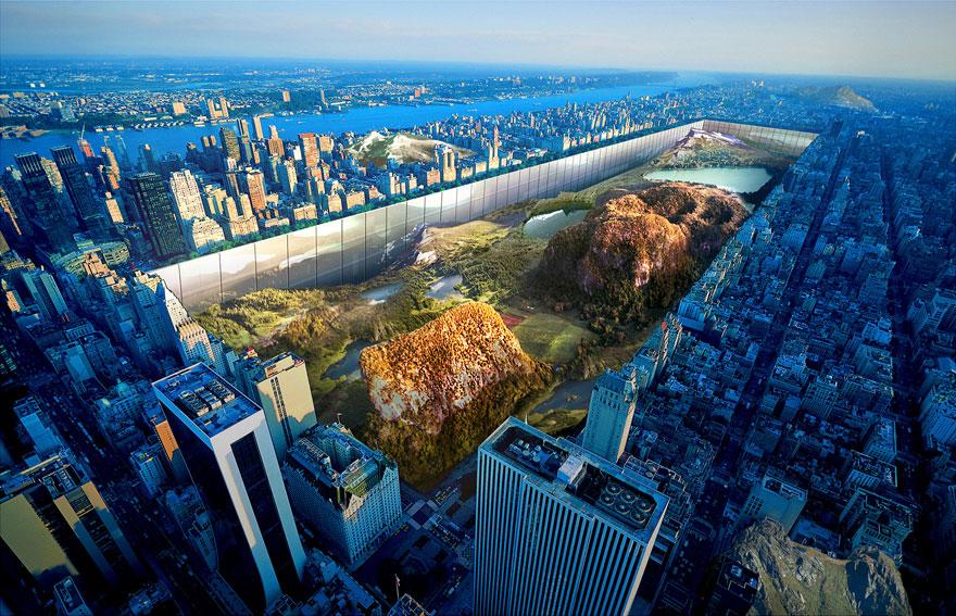 central-park-glass-walls-new-york-horizon-yitan-sun-jianshi-wu-evolo-skyscraper-competition-2