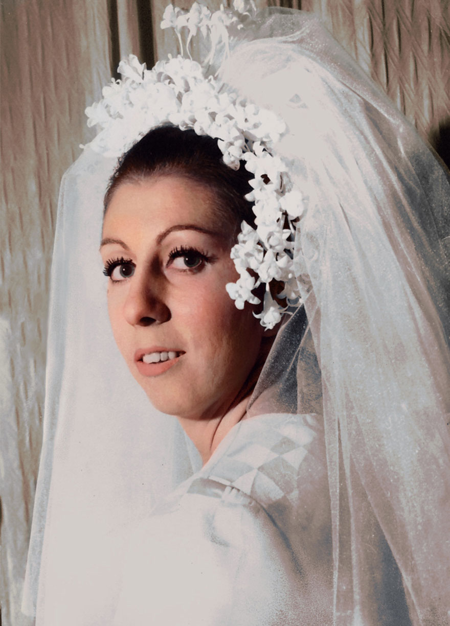 My Grandmother On The Day Of Her Wedding