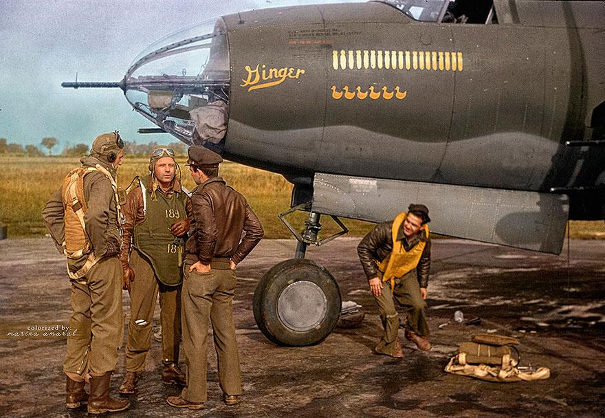 B-26 Marauder And It's Crew