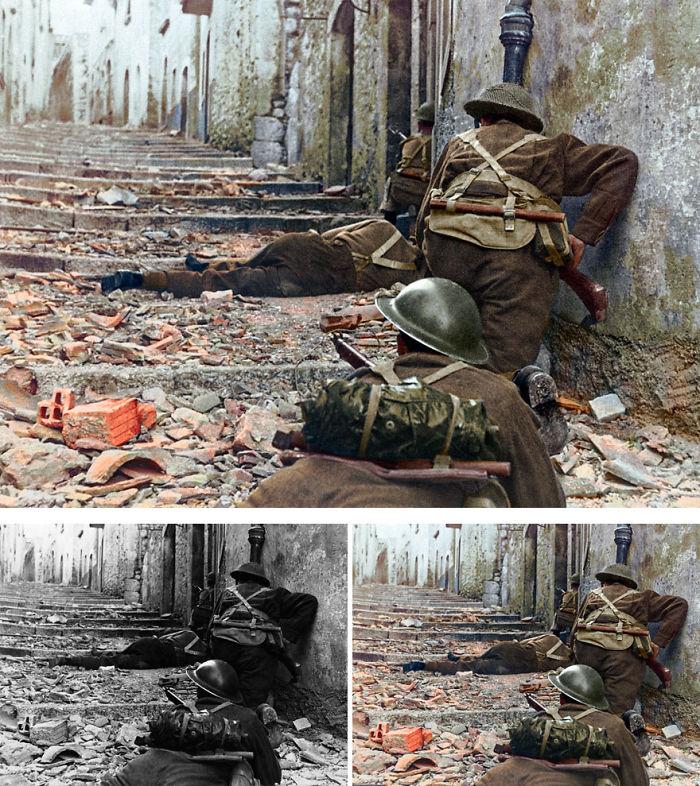 British Soldiers, Wwii