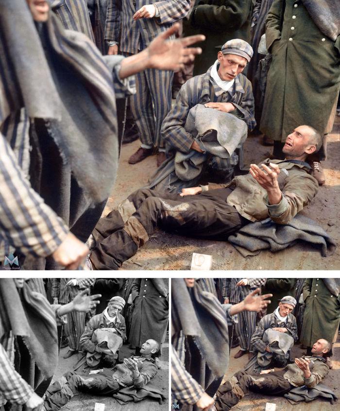 Inmates At Wobbelin Concentration Camp