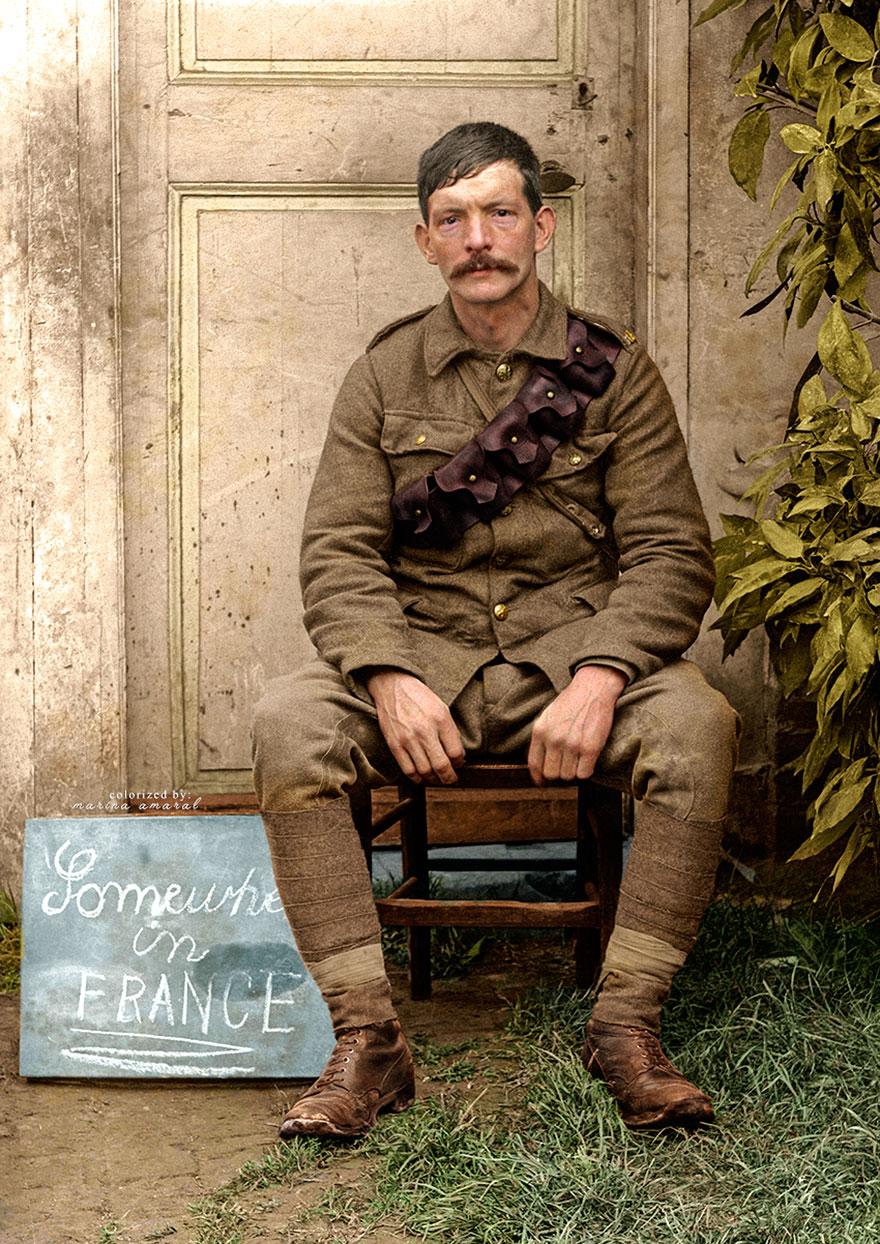 British Soldier During Wwi