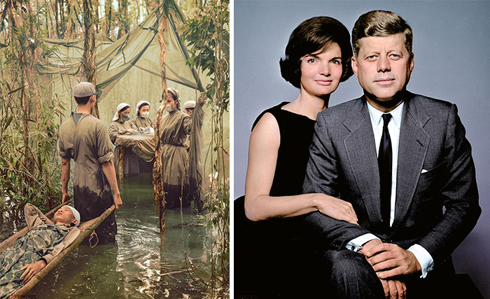 Artist Colorizes Old Black & White Photos Making History Come To Life (71 Pics)