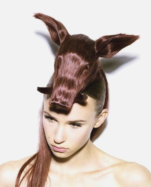 Fabulous 14 Of The Best Crazy Hair Day 39Dos Ever Bored Panda Hairstyles For Men Maxibearus