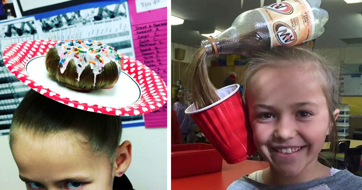 64 Of The Best Crazy Hair Day Dos Ever Bored Panda