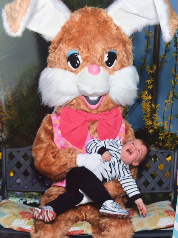 My Nephew Really Likes The Easter Bunny