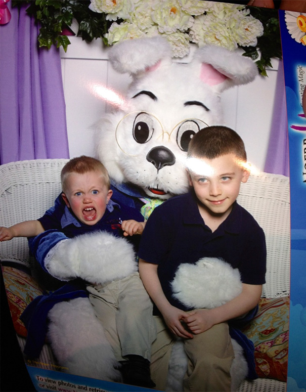 My Friend Used To Be The Easter Bunny At The Mall