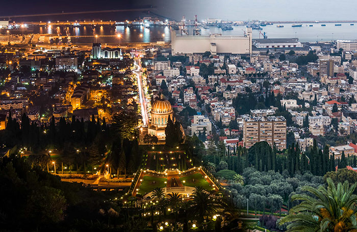 I Merged Day And Night Photos Of Israel Into One