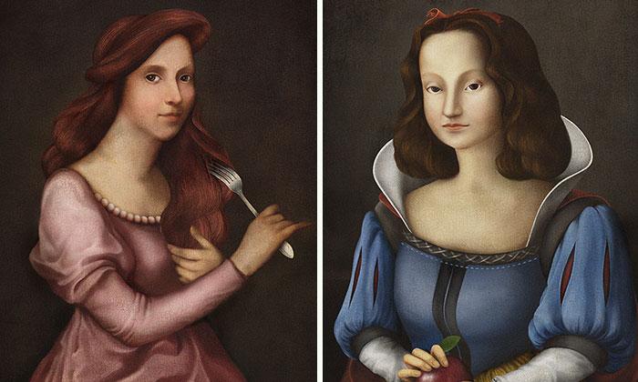 Disney Princesses During The Renaissance
