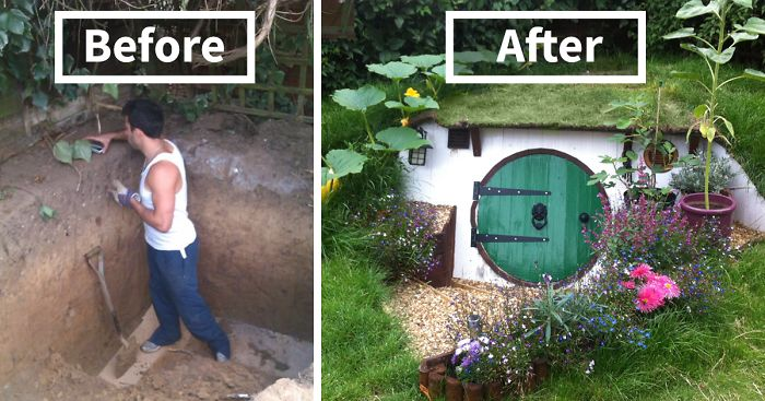 Hobbit Homes how to build a hobbit house in your backyard | bored panda