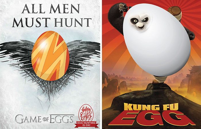 We Created Funny Easter Movie Posters