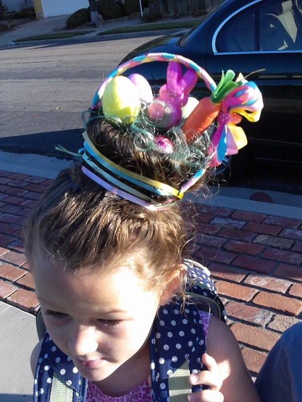 Easter Basket Head